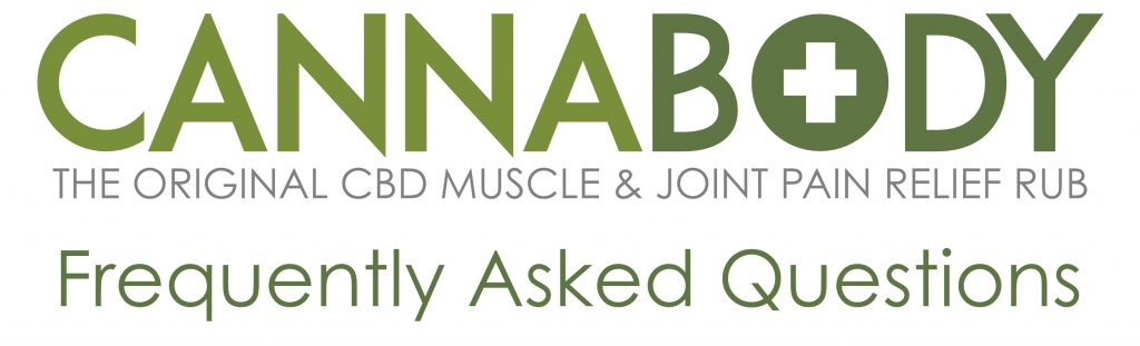 Frequently Asked Questions about CannaBody Pain Relief Rub