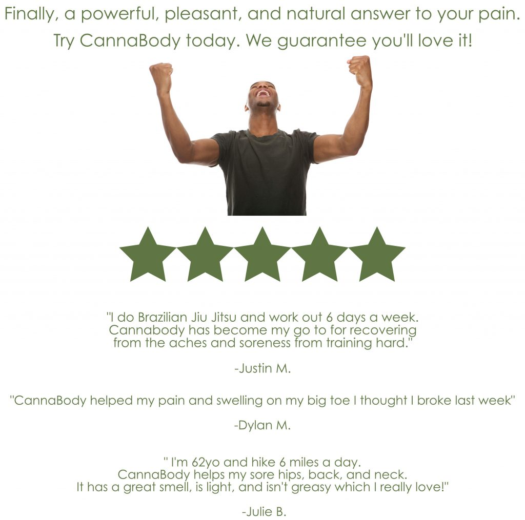 Powerful, Natural Pain Relief from CannaBody